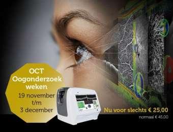 OCT oogonderzoek nu 25 euro